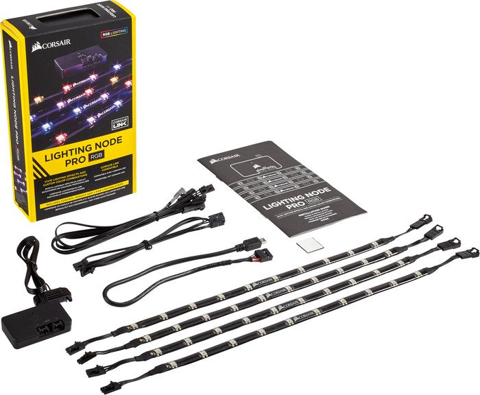Corsair Lighting Node Pro Set, RGB-LED-Streifen (CL-9011109-WW)
