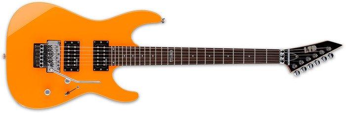 ESP LTD M-50FR Neon Orange
