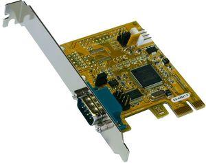 Exsys EX-44041-2, 1x seriell, PCIe x1