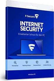 F-Secure Internet Security, 1 User, 1 year (multilingual) (PC) (FCIPBR1N001F1)