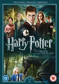 Harry Potter And The Order Of The Phoenix (DVD) (UK)