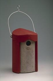 Schwegler Nisthöhle 1B, 26mm, rot