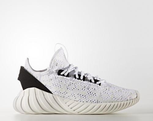 competitive price 5fe1d ae41d adidas tubular Doom Sock Primeknit footwear white/core black (Junior)  (BZ0329) from £ 56.47