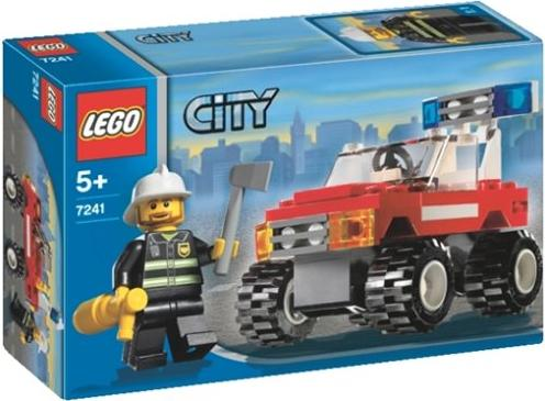 LEGO City Fire - Fire Car (7241)