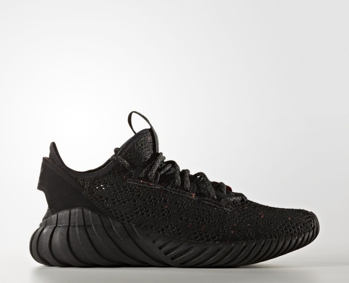 premium selection f9acd a7c31 adidas tubular Doom Sock Primeknit core black/core black/trace olive  (Junior) (BZ0330) from £ 56.47