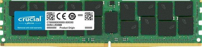 Crucial LRDIMM 128GB, DDR4-2666, CL19, ECC (CT128G4ZFJ426S)