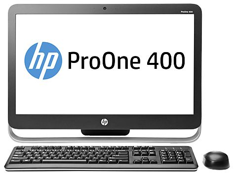 HP ProOne 400 G1 AiO, Core i3-4150T, 4GB RAM, 500GB HDD (G9E67EA)