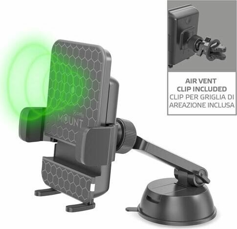 Celly Mount Charge schwarz (MOUNTCHARGEBK)