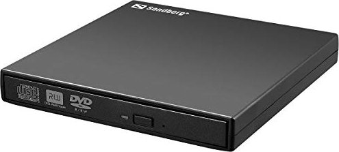 Sandberg USB mini DVD Burner black, USB 2.0 (A/S 133-66) -- via Amazon Partnerprogramm