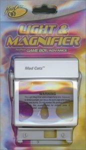MadCatz light & magnifier (GBA)