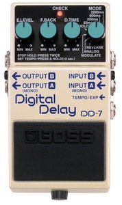 Boss DD-7 digital delay effects unit