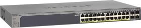 Netgear ProSAFE GS700 Rackmount Gigabit Smart switch, 24x RJ-45, 4x SFP, 190W PoE+, V2 (GS728TP-200)