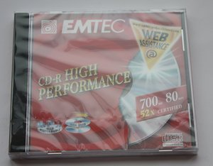 EMTEC (BASF) CD-R 80min/700MB