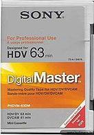 Sony PHDVM-63DM MiniDV-Kassette
