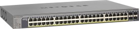 Netgear ProSAFE GS700 Rackmount Gigabit Smart switch, 48x RJ-45, 4x SFP, 380W PoE+, V2 (GS752TP-200)