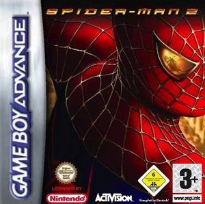 Spiderman 2 - The Movie Game (GBA)