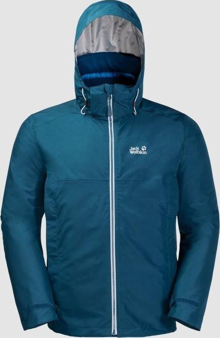 Jack Wolfskin North Fjord Jacket poseidon blue (men) (1110951-1134)