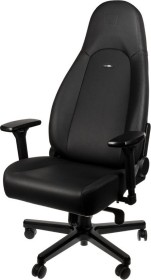 noblechairs Icon Black Edition Gamingstuhl, schwarz (NBL-ICN-PU-BED)