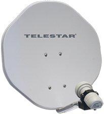 Telestar Alurapid 45 beige inkl. Single-LNB (5102501)