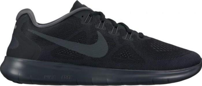 17ec5b4b5fe9 Nike Free RN 2017 black dark grey cool grey anthracite (men) (880839 ...