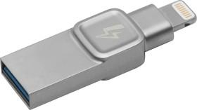 Kingston DataTraveler Bolt Duo 128GB, USB-A 3.0/Lightning (C-USB3L-SR128-EN)