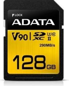 ADATA Premier ONE R290/W260 SDXC 128GB, UHS-II U3, Class 10 (ASDX128GUII3CL10-C)