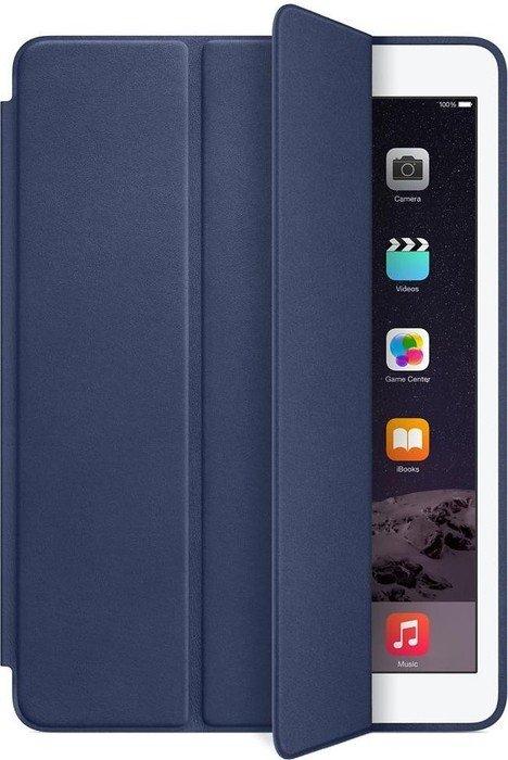 apple ipad air 2 leder smart case dunkelblau. Black Bedroom Furniture Sets. Home Design Ideas