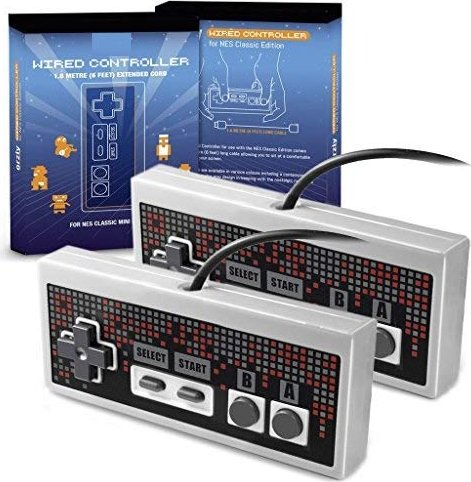Orzly Classic mini NES controller Twin pack -- via Amazon Partnerprogramm