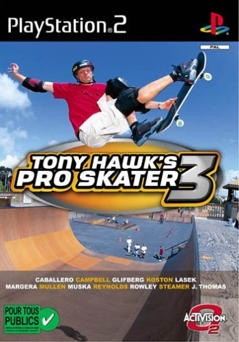 Tony Hawk's Pro Skater 3 (German) (PS2) -- via Amazon Partnerprogramm