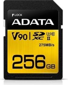 ADATA Premier ONE R275/W155 SDXC 256GB, UHS-II U3, Class 10 (ASDX256GUII3CL10-C)