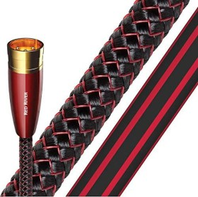Audioquest Red River XLR Audio Kabel 0.75m rot