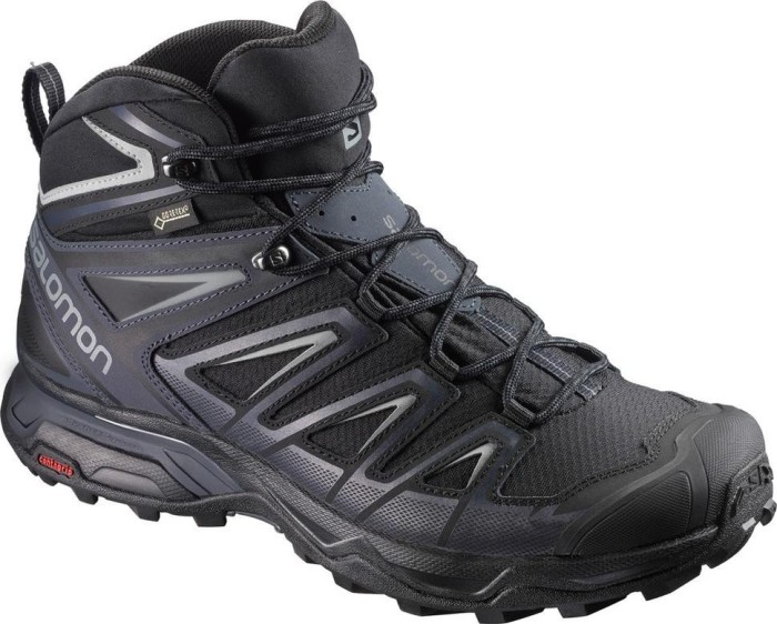 Salomon X Ultra 3 Mid GTX black/india ink/monument (Herren) (398674)