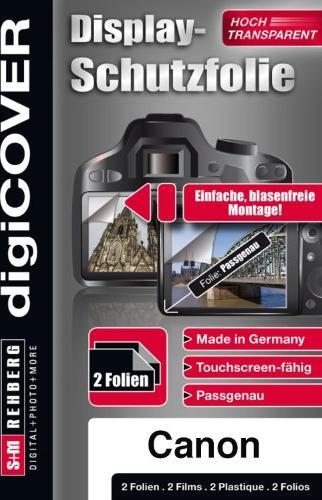 S&M Rehberg Digi-Cover LCD-Schutzfolie für Canon PowerShot (verschiedene Modelle) -- via Amazon Partnerprogramm
