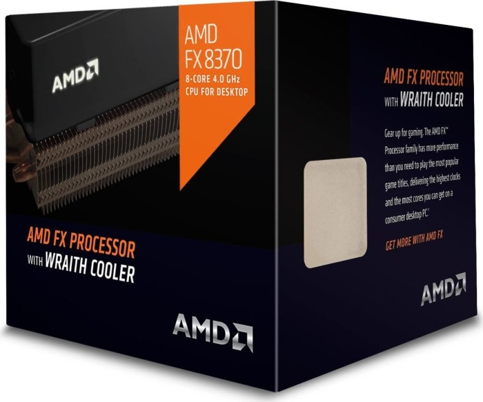 AMD FX-8370, 8x 4.00GHz, boxed mit AMD Wraith (FD8370FRHKHBX)