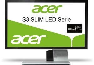 "Acer S3 Slim LED S273HLAbmii, 27"" (ET.HS3HE.A01)"