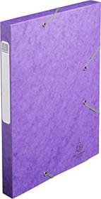 Exacompta Archivbox Cartobox A4, 25mm, violett (18515H)