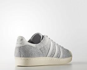 Adidas Sneaker Men Superstar 80S S75849 Hellgrau, Schuhgröße:42