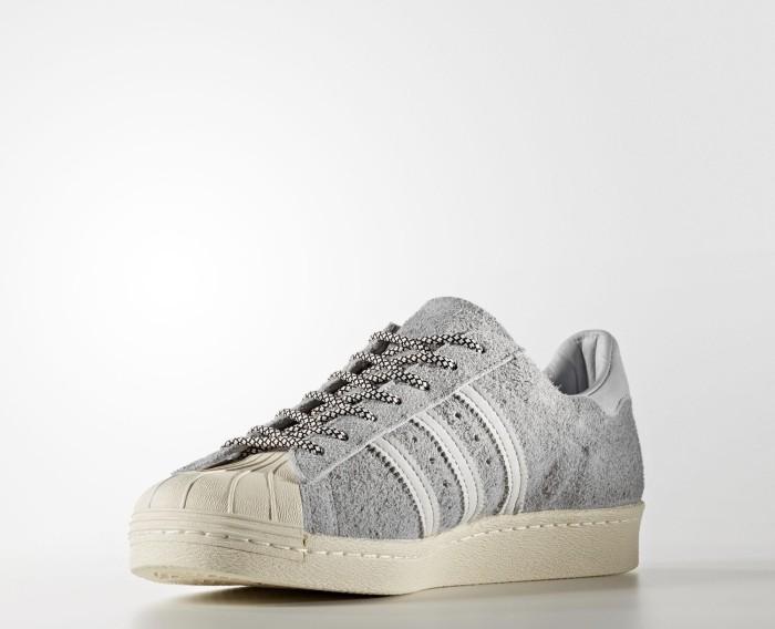 adidas Adidas Superstar 80s Clear Onix Clear Gre Herren