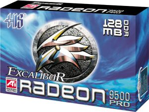 HIS (ENMIC) Excalibur Radeon 9500 Pro, 128MB DDR, DVI, TV-out, AGP