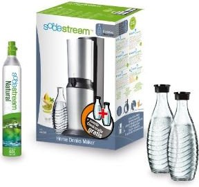SodaStream Crystal soda maker set exclusive (various colours)