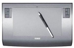 Wacom Intuos3 A5 Wide, USB (PTZ-631W)
