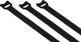 Hama velcro-cable tie, 125mm, 10mm, 20 pieces, black (00020547)