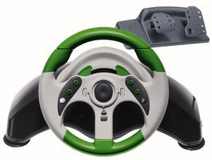 MadCatz MicroCon Steering wheel + Pedals (Xbox)