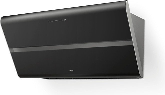Berbel Smartline BKH 80 ST schwarz Wand-Dunstabzugshaube
