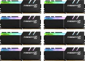 G.Skill Trident Z RGB DIMM kit 128GB, DDR4-3600, CL17-19-19-39 (F4-3600C17Q2-128GTZR)