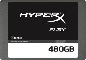 Kingston HyperX Fury SSD 480GB, SATA (SHFS37A/480G)