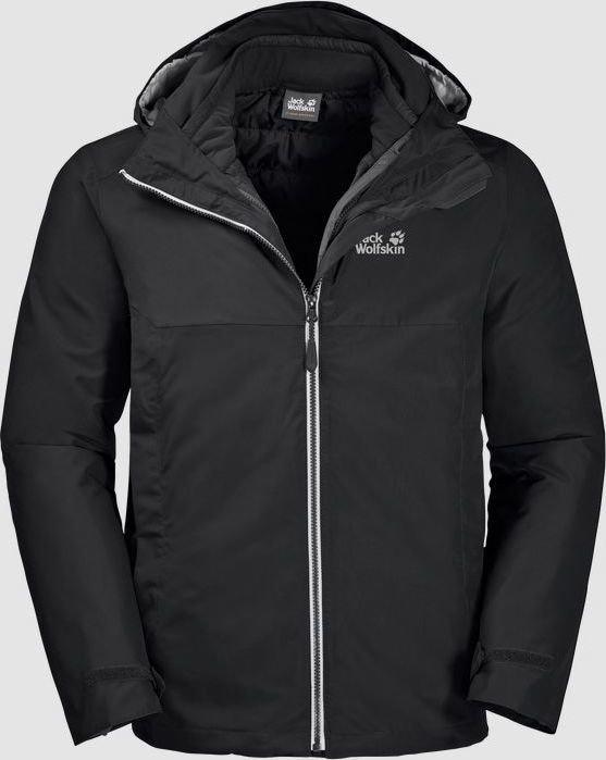 Jack Wolfskin North Fjord Jacket black (men) (1110951-6000)
