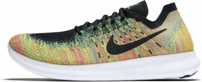later factory price fashion Nike Free RN Flyknit 2017 blue lagoon/hot punch/black ...
