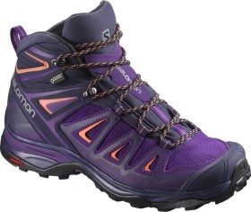 Salomon X Ultra 3 Mid GTX acai/evening b/living coral (Damen) (398688)