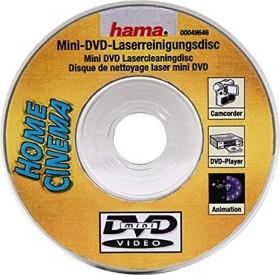 "Hama mini-DVD laser cleaning disc 3""/8cm (49640)"